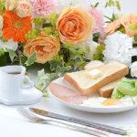 朝食にフルーツ!能力アップ!バランスの良い食事?
