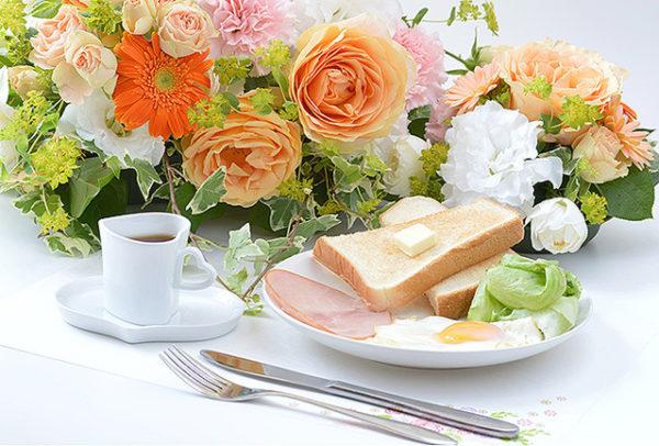 朝食にフルーツ・能力アップ