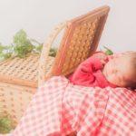 4~5ヶ月の赤ちゃんの表情はまるで天使!只今急成長中