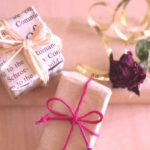 クリスマスプレゼントのお店の包装紙って気になりますか?信用一番?