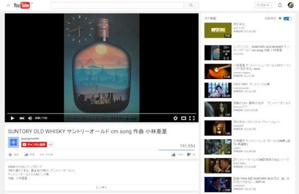 YouTubeの動画のプラグイン