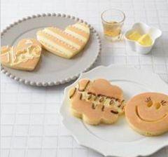 ホットプレートパンケーキ