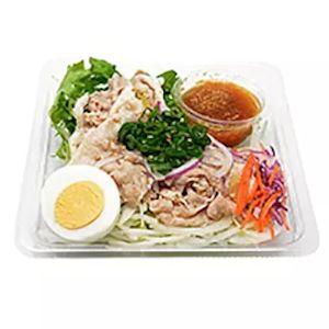 コンビニダイエット豚サラダ