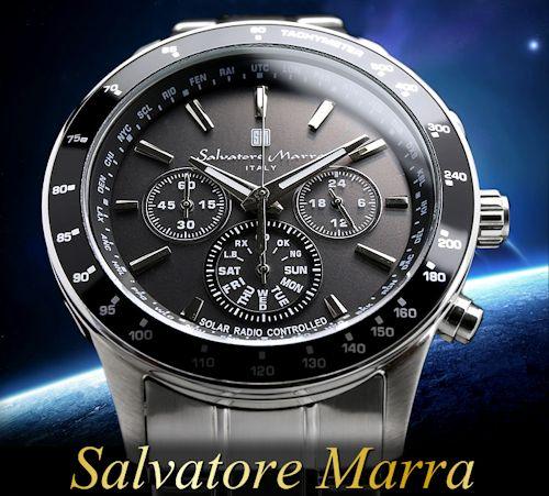 電波ソーラークロノグラフ腕時計