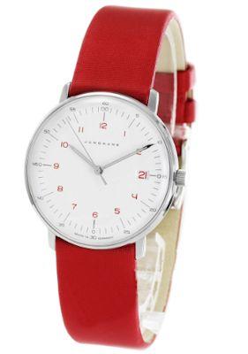 腕時計の機能的表現センスは男の物欲を刺激レッド