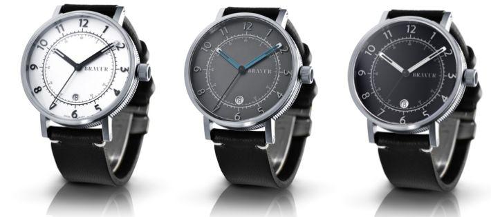 北欧腕時計カジュアルモダンデザイン