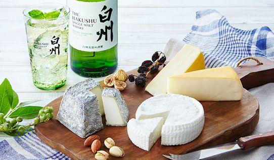 ハイボールと本格派チーズのマリアージュ