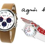 フランスのシンプルな腕時計!アニエスベーはパリのセンスいい大人の夏のイメージ
