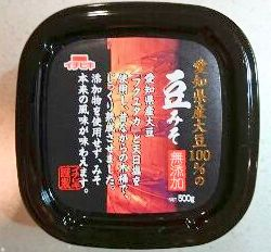 抗がん効果生活習慣病予防を意識している豆味噌
