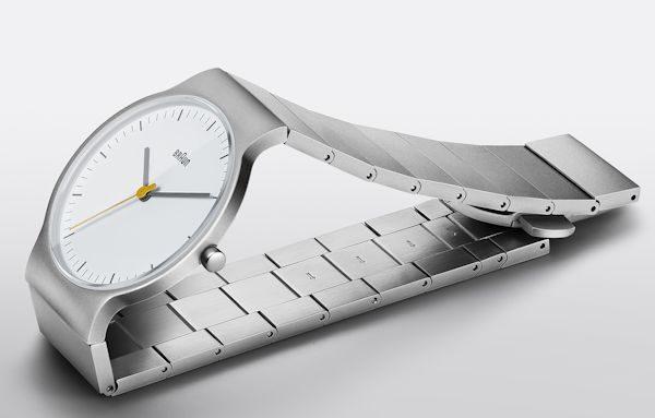 ウルトラスリムケースの腕時計!ブラウン