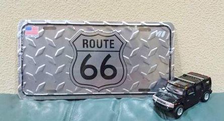 ルート66プレート