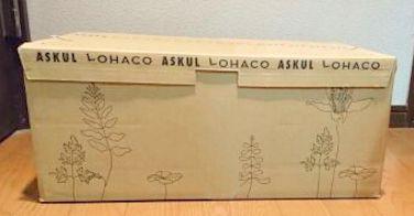 「LOHACO(ロハコ)」の段ボール