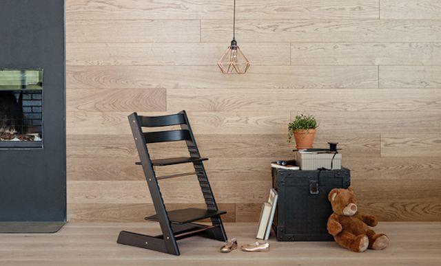 成長に合わせて調整ができる椅子!センスがいいデザインは人間工学に基づいたハイチェアの革命!
