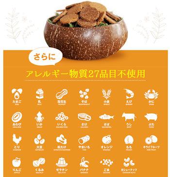 アレルギー物質・食品添加物・動物性原料不使用・グルテンフリーの健康クッキー