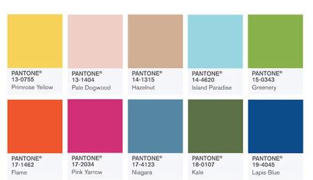 【2017年トレンドカラー】安らぎと復活の緑!パントン社カラー研究所が発表1