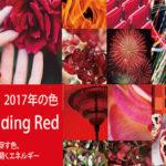 【2017年インターカラー】未来を開くパワーを象徴する鮮やかな赤!世界16カ国が発表