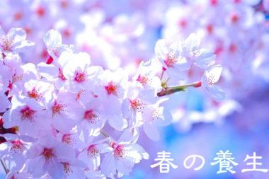 【春の養生法】春の過ごし方!心と体の大掃除は3つ注意と3つの対処法