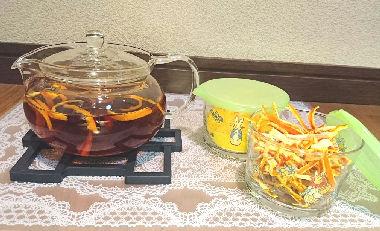 春!身近な飲み物の薬膳的な効能でリラックス陳皮茶
