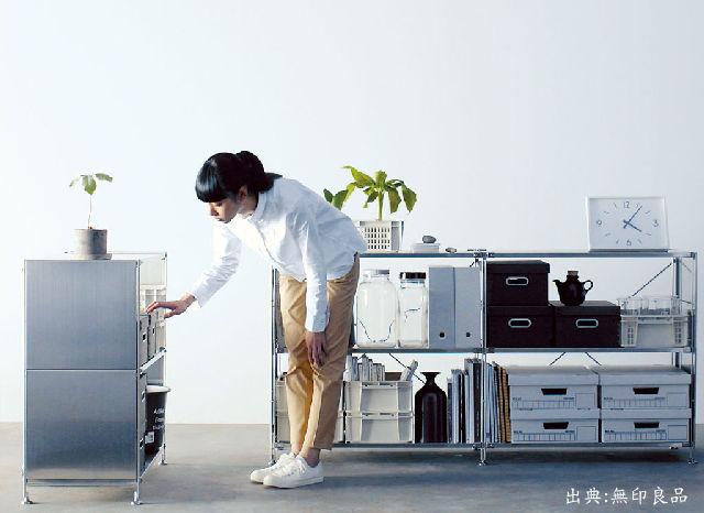 無印良品 【新生活家電3点セット】 2ドア冷蔵庫 110L 右