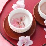 桜茶・桜緑茶・桜紅茶は健康茶!春のおいしい桜茶の効能