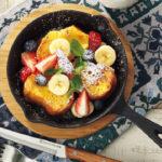 ニトリの鉄板-スキレット鍋で大豆米糀の「ぐりとぐらのケーキ」や豪華料理がカンタンに!