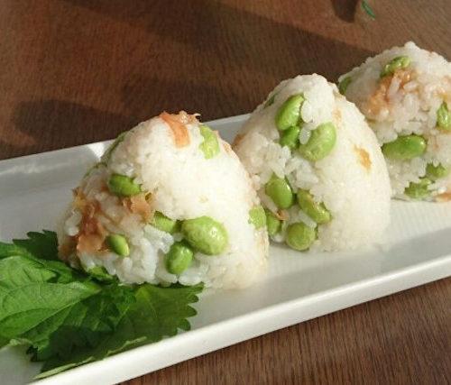 「豆おにぎり」冷ご飯ダイエット効果!夏休みに大活躍!作り置きレシピ7選