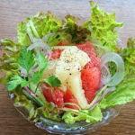 グレープフルーツ!夏に塩コショウサラダがオススメ!クエン酸とビタミンC豊富!