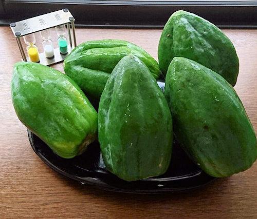 「青パパイヤ」メディカルフルーツ健康・美容・ダイエットの効果効能!万寿果のレシピ付き