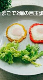 「1個のたまご」で2個の目玉焼きを作る方法!玉子の冷凍保存は料理で活用すると便利!