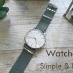 """腕時計のベルト交換でセンスよく七変化コーディネート!TPOに合わせて楽しむ""""シンプル&ベーシック"""""""