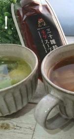 チゲスープの辛さを食卓で調整「三十雑穀チゲスープ」栄養満点の無添加調味料「キムチの素風」