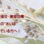 """【はと麦】肌荒れや子供の""""水いぼ""""の悩み!薬膳ハトムギの簡単な食べ方"""
