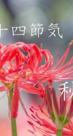 二十四節気の秋【秋分-しゅうぶん】9/23~10/7頃:乾燥トラブルの潤い食材とレシピ4選