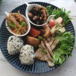 休日のひとり和食ワンプレートごはん|美濃焼「しのぎ皿」で演出