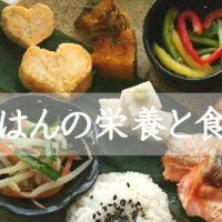 食事の効率よい栄養と食材・調味料